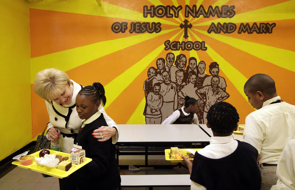 """<strong><span>Mary McDonald&rsquo;s Catholic school network was&nbsp;one of the few private schools in Memphis&nbsp;that expressed interest in participating in Tennessee&rsquo;s voucher program if it passed.</span>&nbsp;</strong><span class=""""s1"""">(</span>Daily Memphian file)"""