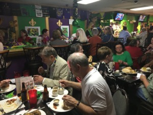 <strong>Penny Henderson, from Lake Charles, Louisiana, opened Mardi Gras restaurant across from Crosstown Concourse in 2015 – while the Concourse was still under construction – and closed it a week after Mardi Gras.</strong> (Jennifer Biggs/Daily Memphian)