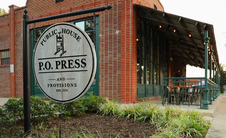 <strong>P.O. Press Public House and Provisions in Collierville combines modern culinary techniques with locally sourced ingredients.</strong> (Patrick Lantrip/Daily Memphian)