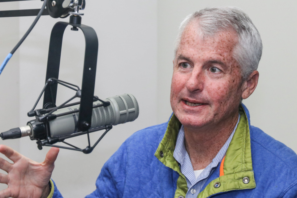 <strong>Phil Mudd, CNN national security analyst and former CIA official, on The Extra Podcast on The Daily Memphian.</strong> (Jason Terrell/The Daily Memphian)