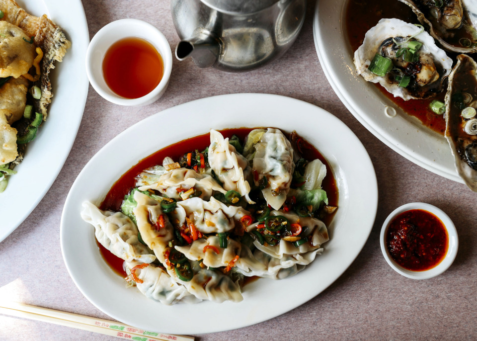<strong>Yong's Special Dumplings is one of New Asia's most popular dishes. The dish is inspired by the restaurant's owner and chef, Yong Hu.</strong> (Houston Cofield/Daily Memphian)
