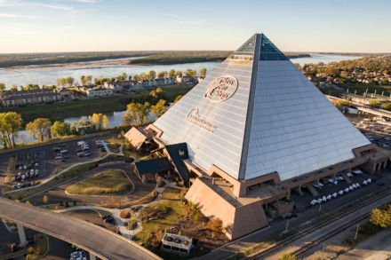 <strong>Bass Pro Shops at The Pyramid posted its first ever year-over-year sales increase in 2018. The city released sales numbers in response to a public records request.</strong> (Daily Memphian file)