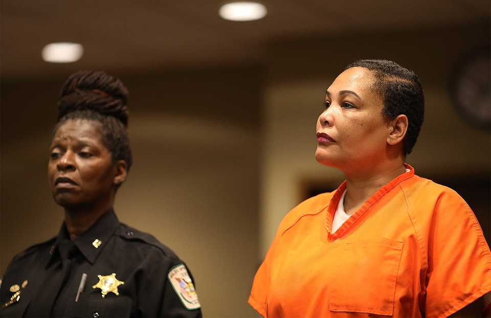 <strong>Sherra Wright was found mentally competent to stand trial by Judge Lee Coffee Friday, Oct. 5.</strong> (Patrick Lantrip/Daily Memphian)