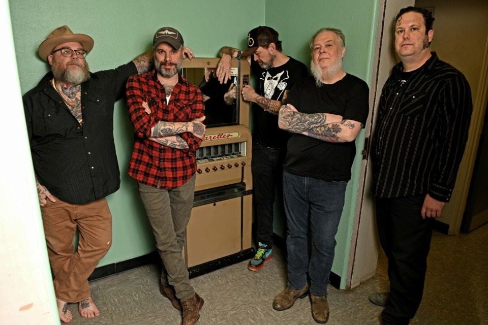 <strong>Memphis rock band Lucero will celebrate its 21st year together at their annual Lucero Family Block Party at Minglewood Hall.</strong> (Photo courtesy of Dan Ball)
