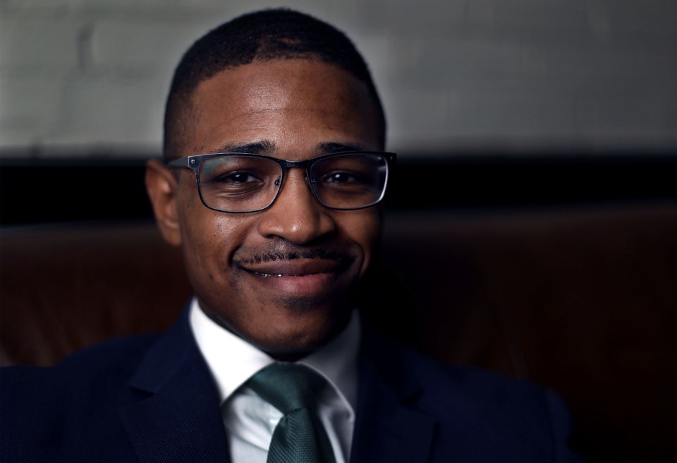 <strong>Michael Harris was recently elected chairman of the Shelby County Democratic Party.</strong> (Patrick Lantrip/Daily Memphian)