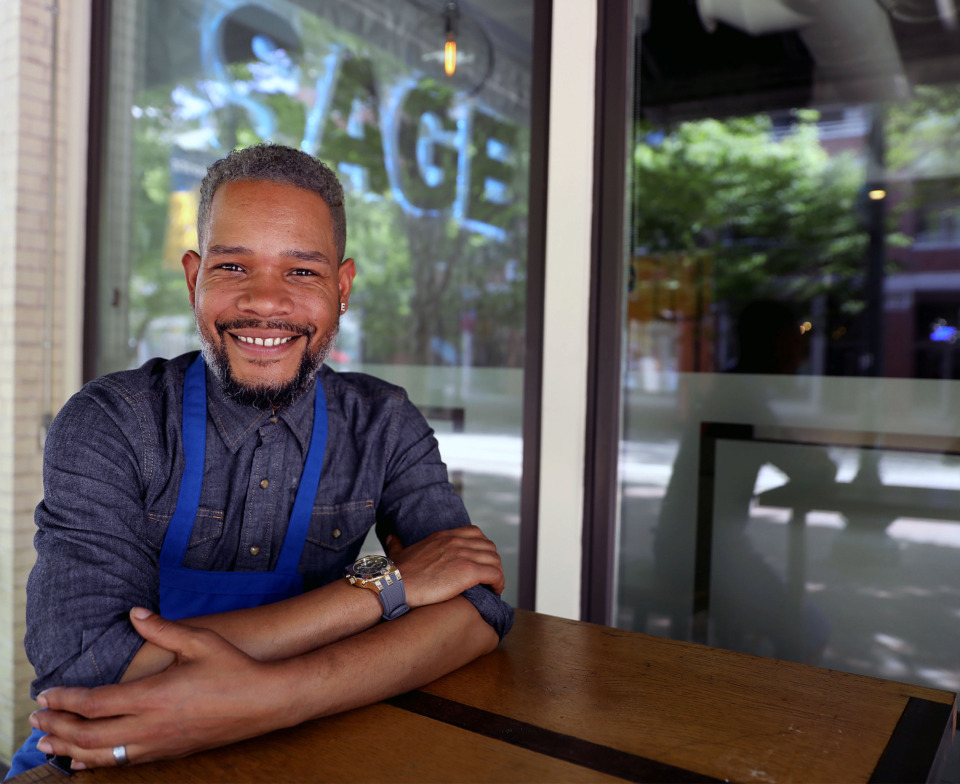 <strong>Chef Elijah Townsend&rsquo;s restaurant, Sage, serves classic tapas-style dishes with a modern flair.</strong> (Patrick Lantrip/Daily Memphian)
