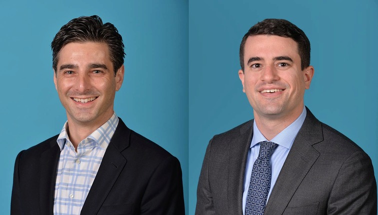 <strong>Jason Wexler, left, is the new president of the Memphis Grizzlies. Zachary Kleiman, right, is the executive vice president of basketball operations.</strong> (Courtesy of Memphis Grizzlies)