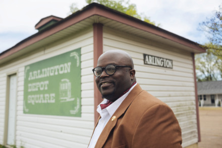 "<strong>Entrepreneur, author and filmmaker Tony Jackson is active in the Arlington community, serving on the board for the Arlington Chamber of Commerce. ""Tony is an integral part of the Arlington community and our chamber,"" Arlington Chamber Director Tonia Howell said. ""He brings such enthusiasm to everything he does – his business pursuits, his writing, leading community events and the way he interacts with people – and that enthusiasm is contagious.""</strong> (Ziggy Mack/Special to The Daily Memphian)"