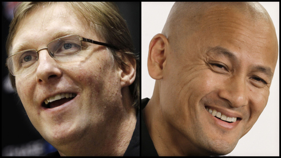 <span><strong>The Memphis Grizzlies have hired Glen Grunwald (left) as senior advisor and Rich Cho as&nbsp;vice president of basketball strategy. Both are former NBA general managers with high-level front office experience.</strong> (Grunwald: AP Photo/Frank Franklin II; Cho: AP Photo/Chuck Burton)</span>