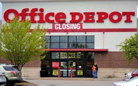 <strong>This Office Depot in the Southwind area's Centennial Commons shopping center is one of two closing in the Memphis area. The other is at 785 Union in the Medical District. </strong>(Tom Bailey/Daily Memphian)
