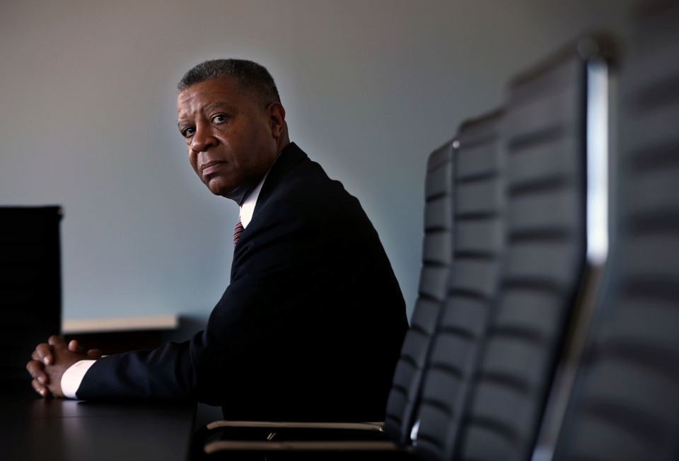 <strong>16 months ago, East Coast native Darius Davis left Washington D.C. and moved to the South to become the president and CEO of Tri-State Bank of Memphis.</strong> (Patrick Lantrip/Daily Memphian)