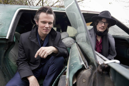 <strong>Brothers Luther and Cody Dickinson of the North Mississippi Allstars kick off the 2019 edition of the Levitt Shell's annual summer concert series.</strong> (Photo courtesy of bighassle.com)