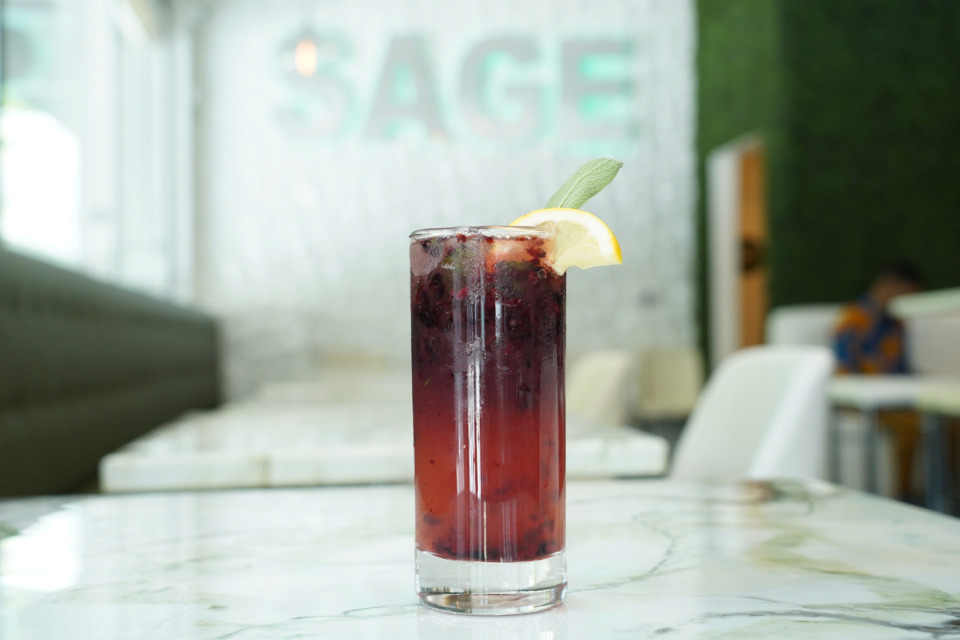 <strong>House of Sage is the signature cocktail at Sage on South Main and it contains whiskey named after the first African-American master distiller.</strong> (Forever Ready)