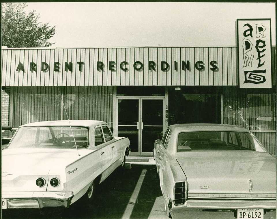 <strong>Ardent Recordings opened in 1966 at the intersection of National and Bayliss, catty-corner from the Sweden Kream that still stands today. </strong>(Submitted)