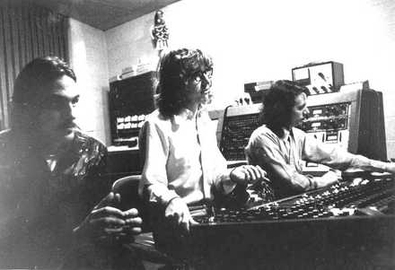 "<strong>(From left) James Taylor, Pete Asher and Terry Manning recorded the Memphis Horns at Ardent in 1971 for Taylor's Grammy Award-winning album ""Mud Slide Slim and the Blue Horizon.""</strong> (Submitted)"