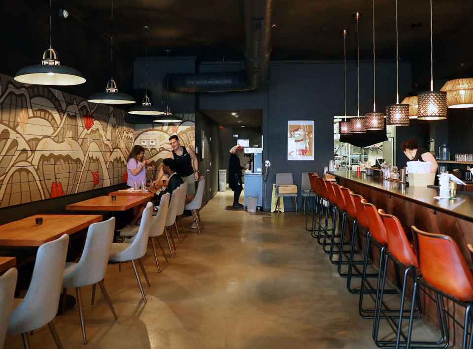 <strong>Lucky Cat Ramen's new spot is in the heart of the Broad Avenue Historic Arts District, in the space that formerly housed Jack Magoo's.</strong> (Patrick Lantrip/Daily Memphian)