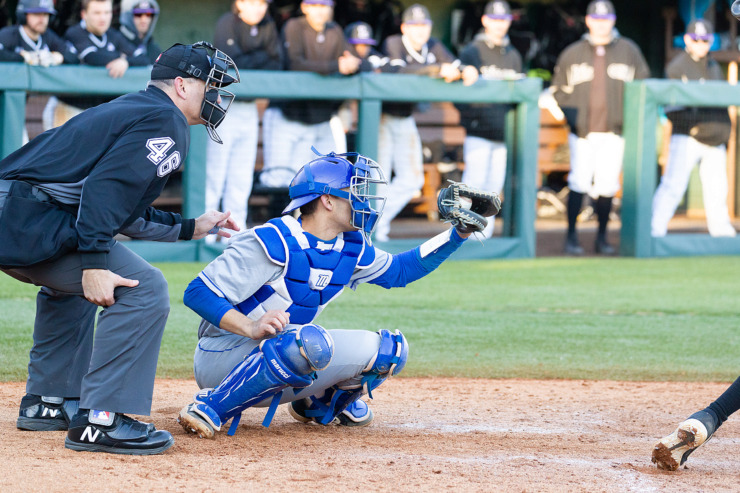 "<strong>After playing four seasons at the University of Memphis, senior catcher Jason Santana will soon graduate with his civil engineering degree. ""It&rsquo;s always been my dream to play farther,"" he says, ""but school always was the No. 1 priority.""&nbsp;</strong>(Photo courtesy of Don Claussen/University of Memphis Athletics)"