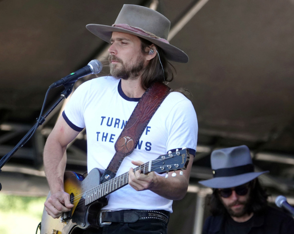 <strong>Lukas Nelson &amp; Promise of the Real performed on the Bud Light Stage at the Beale Street Music Festival on Sunday, May 5, in Memphis.</strong>&nbsp;<strong>Nelson is the son of country music legend Willie Nelson.</strong> (Karen Pulfer Focht/Special To The Daily Memphian)